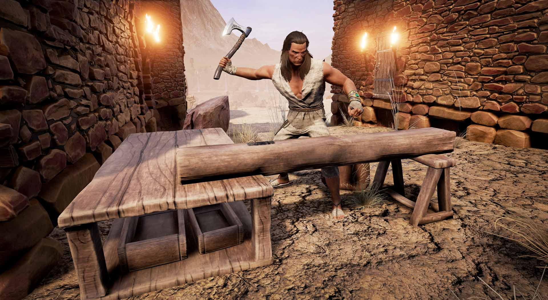Dev Blog 12 Create Your Army Of Thralls Conan Exiles