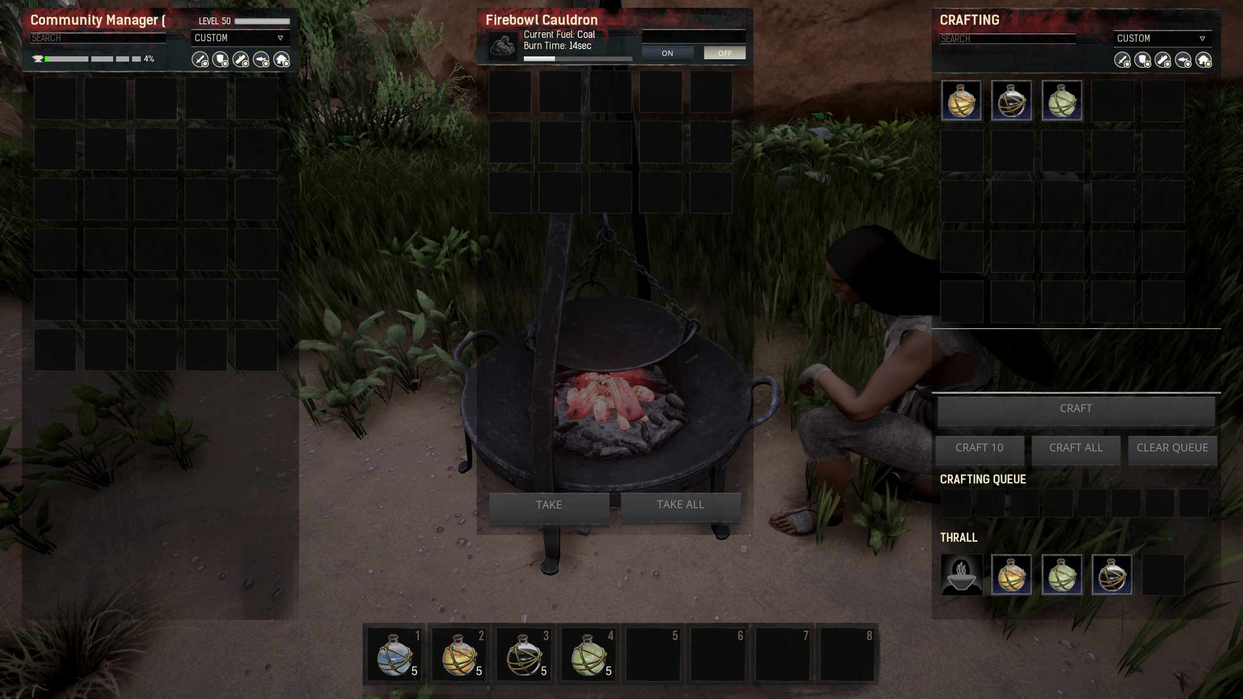 Update 27 – Now you can destroy avatars! - Conan Exiles