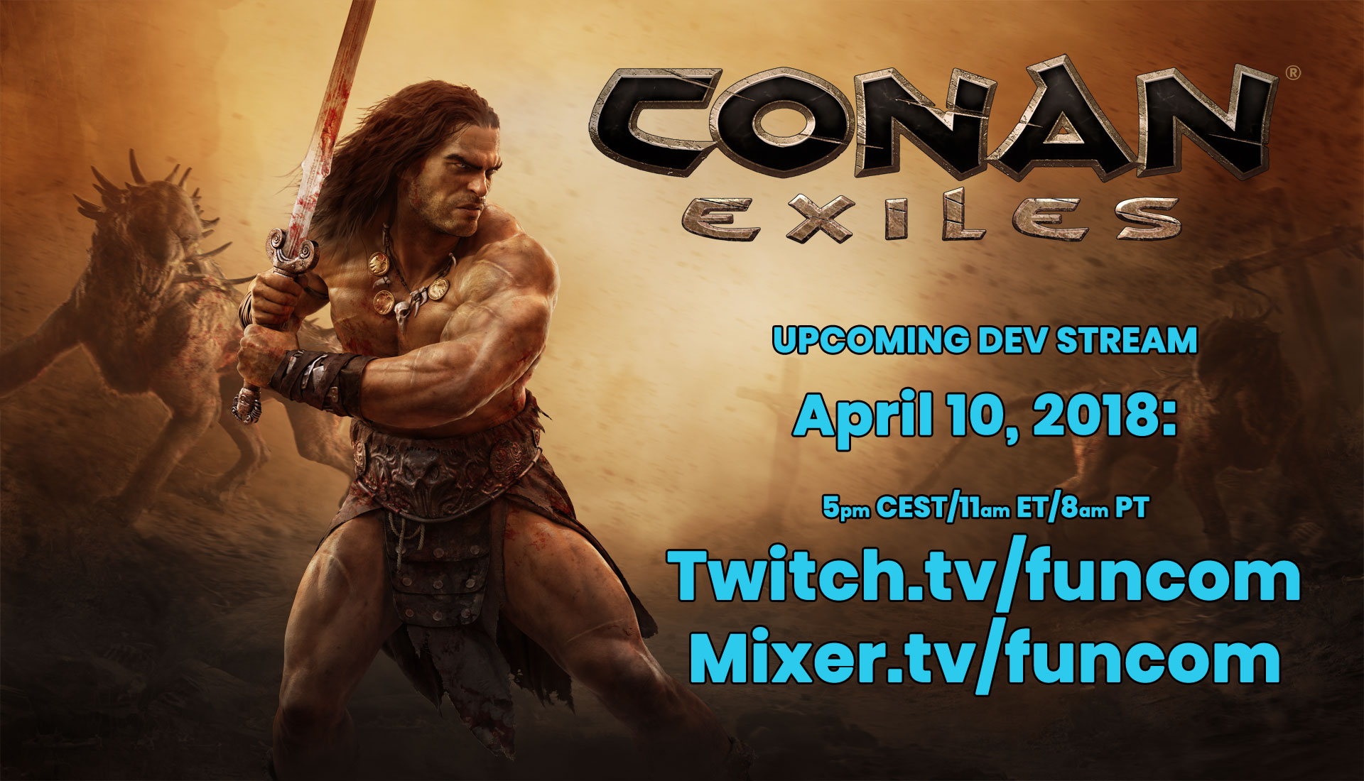 conan exiles how to connect to own server